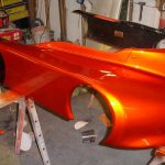 Copperhead Go Kart painted with our Gold Spectre Pearls®