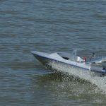 Sky Blue Kandy Model Jet Boat