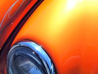 This 25 gram Bright Orange Kandy Pearl powder is a great pigment for creating your very own Orange pearl tinted clears in both custom paint or powder-coating applications. It is guaranteed to mix well with any clear paints or tinted candy paints, and has a temperature threshold of about 400 degrees fahrenheit. It is a very fine powder and will spray well through airbrushes, powder guns, and HVLP paint guns. It is very light, so it stays well mixed in paint without settling too fast in your gun, and can make great tinted clears for light to heavy effects (it's your choice). One 25 gram bag treats from 1 to 2 quarts of clear. Hint: Use under our Gold Spectre Pearl for an effect like Lamborghini Orange.