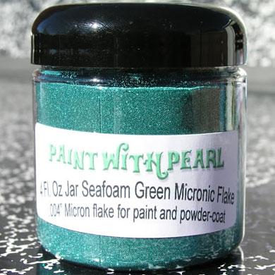 Seafoam Metal Flake, also known as Teal Flake.