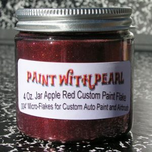 Apple Red Metal Flake for Flake Paint Jobs