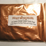 25 Gram Bag Orange Copper Kandy Pearls