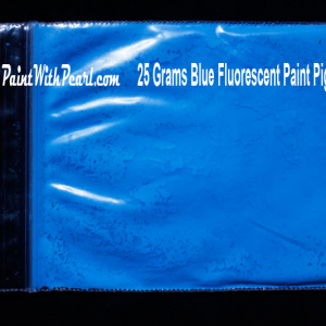 Blue Fluorescent Paint Pigment