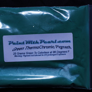 Green Thermochromic Paint Pigment