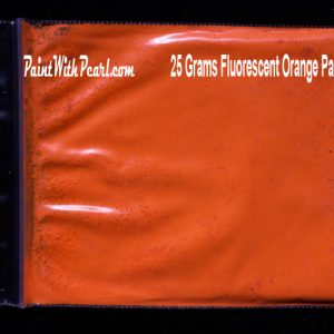 Orange Fluorescent Paint Pigment