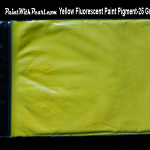 Yellow Fluorescent Paint Pigment