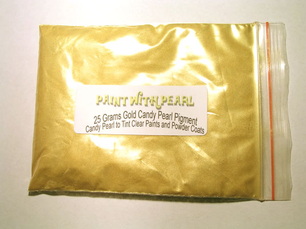 25 Gram Bag Gold Kandy Paint Pearls