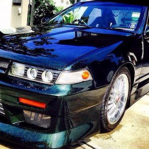Nissan Cefiro with our Gold Green Blue Kameleon pearls.