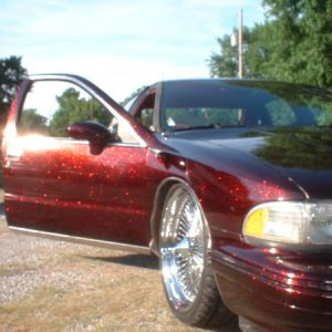 Kustomer Painted a Caprice with Fire Red and Happy with results.