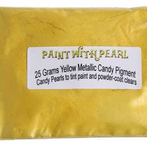 Yellow Metallic Paint Kandy Pearls